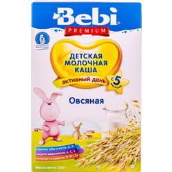 Каша молочная детская KOLINSKA BEBI (Колинска беби) Премиум Овсяная для детей с 5-ти месяцев 250 г