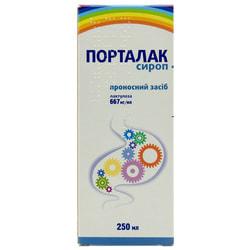 Порталак сироп 667мг/мл фл. 250 мл №1