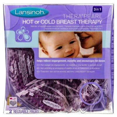Термонакладки для груди LANSINOH (Лансион) TheraPearl 3в1 массаж, нагрев и охлаждение