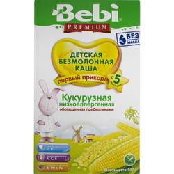 Каша безмолочная детская KOLINSKA BEBI Premium (Колинска беби премиум) Кукурузная низкоаллергенная с пребиотиком 200 г