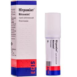 Нитроминт спрей сублингвал. 0,4мг/дозу бал. 10г (180доз)