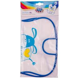 Нагрудник детский CANPOL (Канпол) артикул 2/919 мягкий пластмасовый