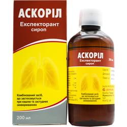 Аскорил Экспекторант сироп фл. 200мл
