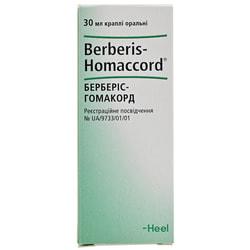 Берберис-Гомакорд кап. орал. фл. 30мл