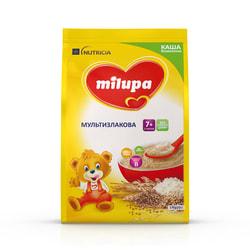 Каша безмолочная детская Нутриция Milupa (Милупа) Мультизлаковая с 7-ми месяцев мягкая упаковка 170 г