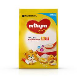 Каша молочная детская Нутриция Milupa (Милупа) Рисовая с Абрикосом с 5-ти месяцев мягкая упаковка 210 г