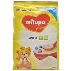 Каша молочная детская Нутриция Milupa (Милупа) Манная с 6-ти месяцев 210 г