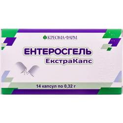 Энтеросгель экстракапс капс. 0,32г №14