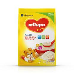 Каша безмолочная детская Нутриция Milupa (Милупа) Рисовая для начала прикорма с 4-х месяцев 170 г