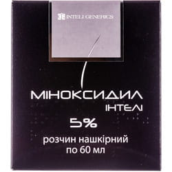 Миноксидил Интели р-р накож. 5% фл. 60мл