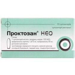 Проктозан Нео супп. ректал №10