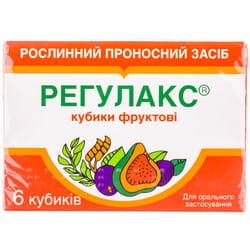Регулакс кубики фрукт. №6