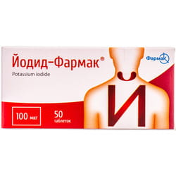 Йодид-Фармак табл. 100мкг №50