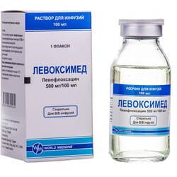 Левоксимед р-р д/инф. 500мг/100мл фл. 100мл №1