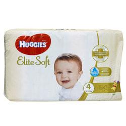 Подгузники для детей HUGGIES (Хаггис) Elite Soft (Элит софт) 4 от 8 до 14 кг 66 шт