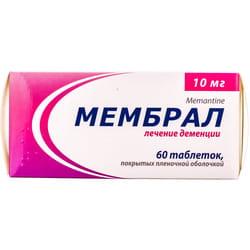 Мембрал табл. п/о 10мг №60