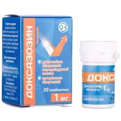 Доксазозин табл. 1мг №30