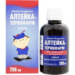 Алтейка-Тернофарм сироп фл. 200мл