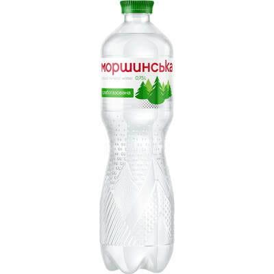 Вода минеральная Моршинская слабогазированная 0,75 л
