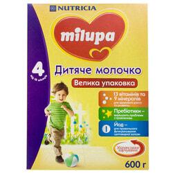 Смесь молочная детская Нутриция Milupa (Милупа) Детское молочко для детей с 18-ти месяцев 600г