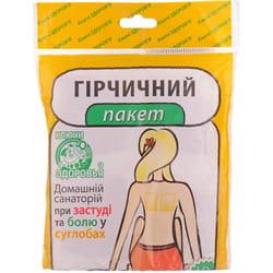 Горчичный пакет профилактическое средство при простудных заболевания и боли в суставах 10 шт