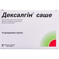 Дексалгин саше гранулы д/орал. р-ра 25мг пакет №10
