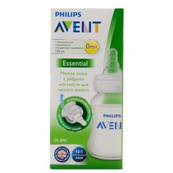Бутылочка для кормления AVENT (Авент) SCF970/17 Essential с стандартным горлышком 120 мл