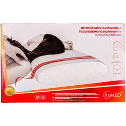 Подушка ортопедическая REMED (Ремед) Dellaria (Делярия) модель P202-AIR повышенного комфорта с охлаждающим эффектом (классическая форма)