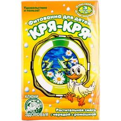 Фитованна детская №4 Ключи Здоровья Кря-Кря растительная смесь с чередой и ромашкой в фильтр-пакетах по 30 г 3 шт