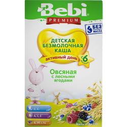 Каша безмолочная детская KOLINSKA BEBI Premium (Колинска беби премиум) Овсяная с лесными ягодами для детей с 6-ти месяцев 200 г
