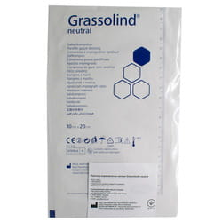 Повязка медицинская Grassolind neutral (Гразолинд нейтрал) атравматическая мазевая стерильная размер 10 см х 20 см 1 шт