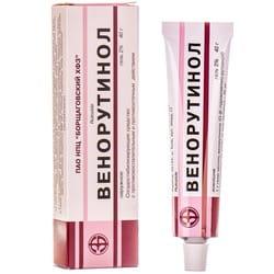 Венорутинол гель 2% туба 40г