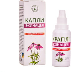 Капли для повышения иммунитета Эхинацея ENJEE (Энжи) с витамином С флакон 30 мл