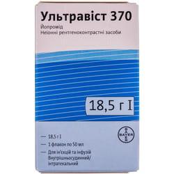 Ультравист 370 р-р д/ин. и инф. 370мг/мл фл. 50мл №1
