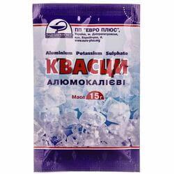 Порошок противовоспалительный Квасцы алюмокалиевые для наружного применения 15 г