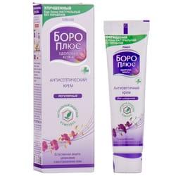 Крем антисептический Боро Плюс Здоровая кожа природная защита, увлажнение и восстановление сиреневый 25 мл