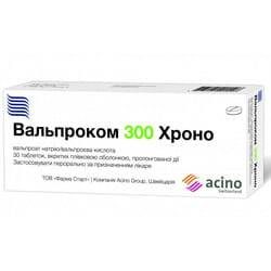 Вальпроком Хроно табл. п/о 300мг №30
