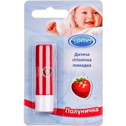 Помада для губ LINDO (Линдо) артикул U 772 Клубничка детская гигиеническая 4,5г