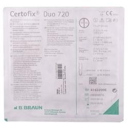 Набор для катетеризации центральных вен (набор по Сельдингеру) Certofix® Duo (Цертофикс Дуо) 720 двухканальный катетер 16G/16G 1 шт