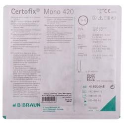 Набор для катетеризации центральных вен (набор по Сельдингеру) Certofix Mono (Цертофикс Моно) 420 одноканальный катетер 14G 1 шт