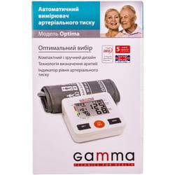 Измеритель (тонометр) артериального давления Gamma Optima (Гамма Оптима) автоматический