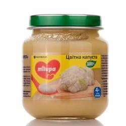 Пюре овощное детское Нутриция Milupa (Милупа) Цветная капуста с 4-х месяцев 125 г