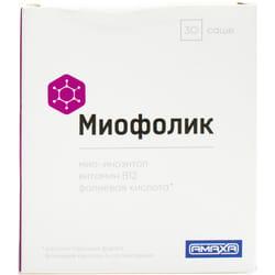 Диетическая добавка для улучшения репродуктивной функции у женщин Miofolic (Миофолик) в саше по 2 г 30 шт