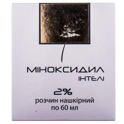 Миноксидил Интели р-р накож. 2% фл. 60мл