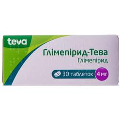 Глимепирид-Тева табл. 4мг №30