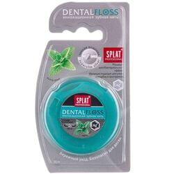 Зубная нить СПЛАТ с волокнами серебра тонкая 30м