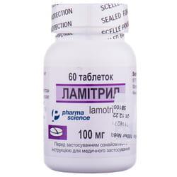 Ламитрил табл. 100мг №60