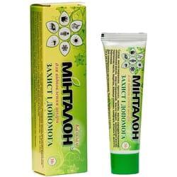 Бальзам для восстановления кожи Минталон защита и помощь при ожогах, ранах и укусах насекомых туба 30 г