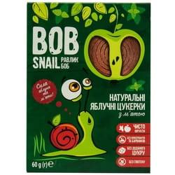 Конфеты детские натуральные Bob Snail (Боб Снеил) Улитка Боб яблочные с мятой 60г