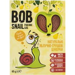 Конфеты детские натуральные Bob Snail (Боб Снеил) Улитка Боб яблочно-грушевые 60г